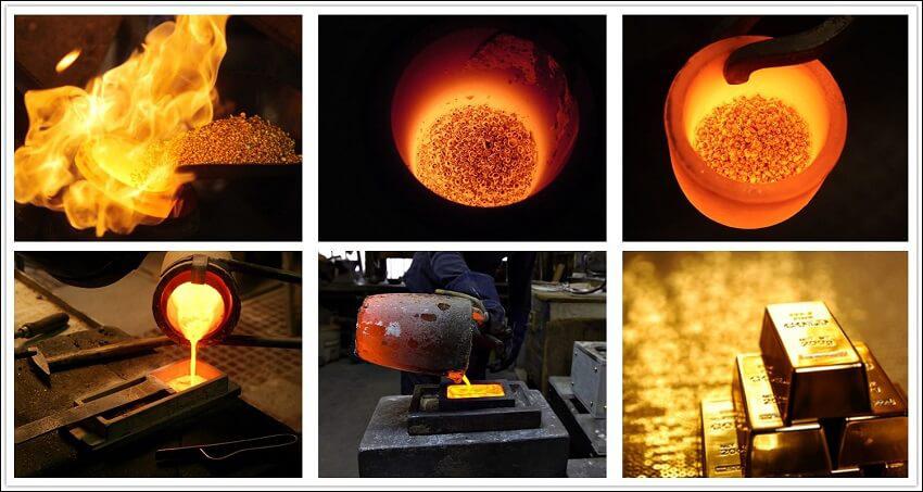 application-for-gold-melting-furnace