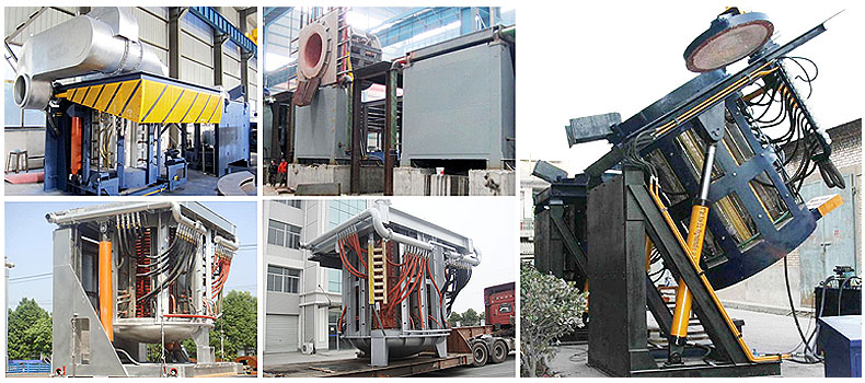 steel shell induction melting furnace show