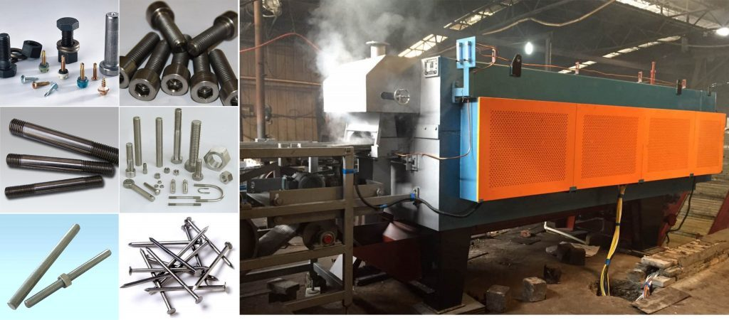 continuous-mesh-belt-conveyor-muffle-furnace-application