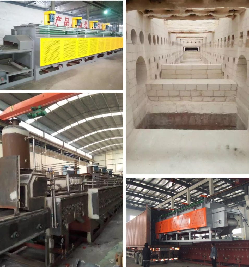 mesh-belt-conveyor-furnace-on-site